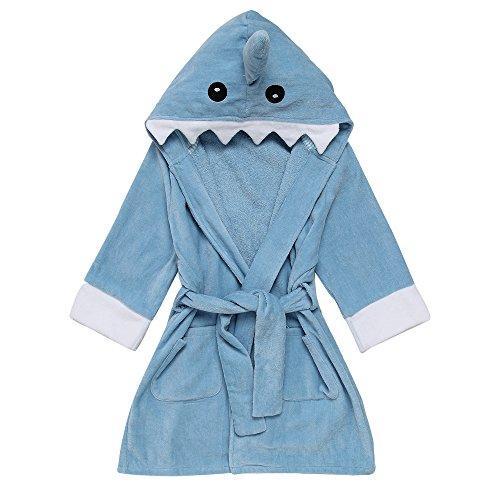 toddler bathrobe hooded - 9