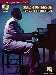 Oscar peterson originals transcriptions lead sheets and oscar peterson plays standards piano signature licks fandeluxe Image collections
