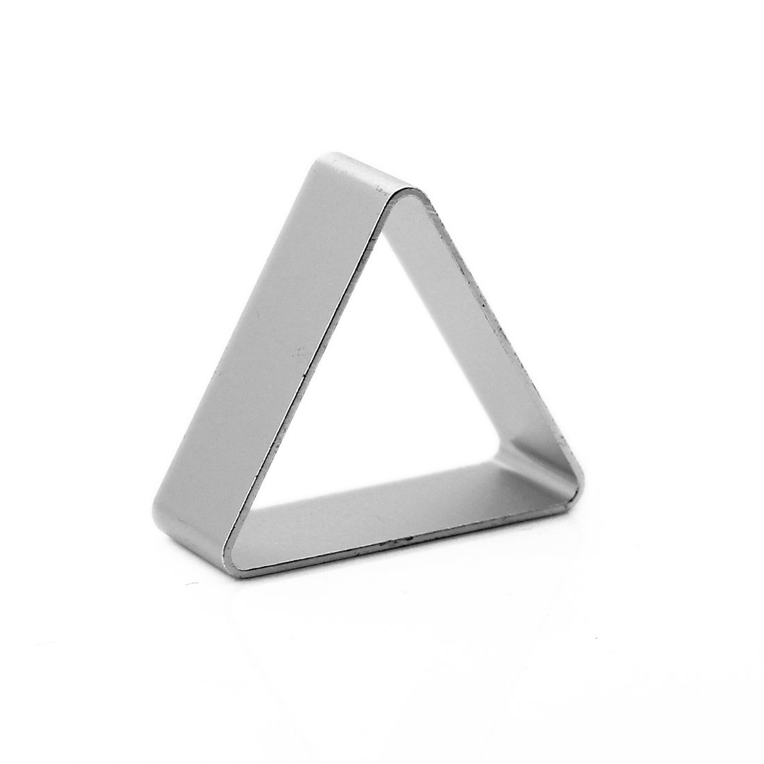 joyliveCY Aluminum Fondant Decoration Cooky Biscuit Cutter Cake Tool Sugar Craft Diy Mould Model=Triangle Cy-buity