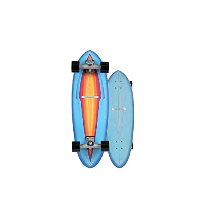 "Carver Skateboards Blue Haze Surfskate Complete CX 30"" : Sports & Outdoors"