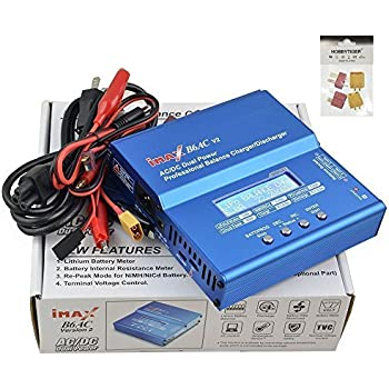 iMAX B6AC Version 2 Digital LiPo LiIon LiFe NiMH NiCd 2S 3S 4S 5S 6S RC Battery Balance Charger and Discharger with DC PC USB Port Temperature Port