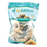 Best Bully Sticks 100% Natural Cow Hooves Dog Chews by (25 Count Value Pack)