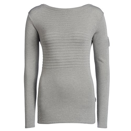 Musterbrand Star Wars Women Ladies' Sweater Alliance, Grey, L]()