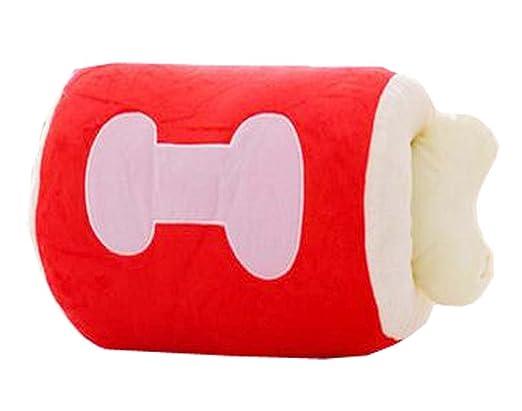 Cute Bone calentador de manos de almohada suave cojín ...