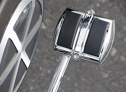 i5 Chrome Rear Brake Pedal Cover for Honda Rebel 250 Magna Shadow 600 750 Spirit Aero Phantom 1100 ACE