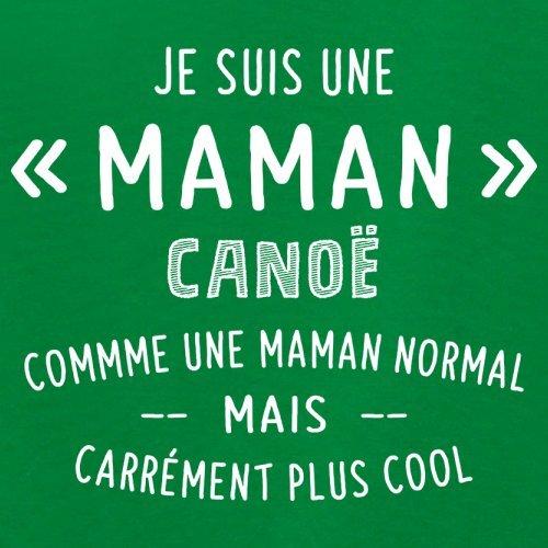 une maman normal canoë - Femme T-Shirt - Vert - L