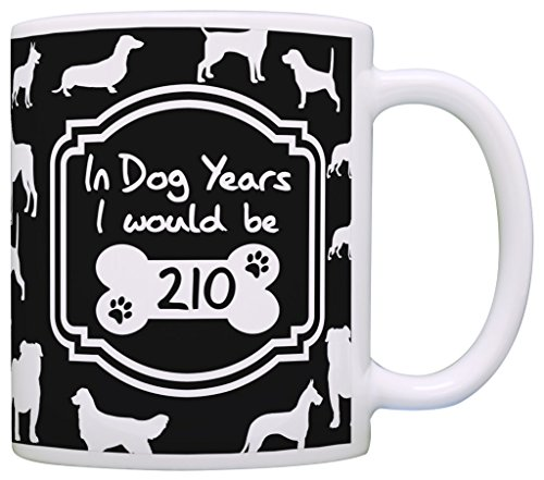 30th-Birthday-Party-Decorations-Dog-Years-210-Gag-Gift-Coffee-Mug-Tea-Cup