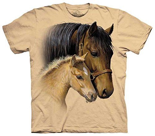 The Mountain Gentle Touch Adult T-shirt, X-Large, Sand