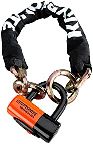 Kryptonite New York Noose 1275 Chain Bicycle Lock with Evolution Series 4 Disc Lock Chain Bicycle Lock, 2-Foot
