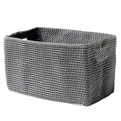 zone denmark korb confetti, eckig, grau: amazon.de: küche & haushalt - Körbe Für Badezimmer