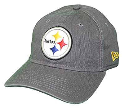 New Era Pittsburgh Steelers NFL 9Twenty Core Classic Graphite Adjustable Hat by New Era