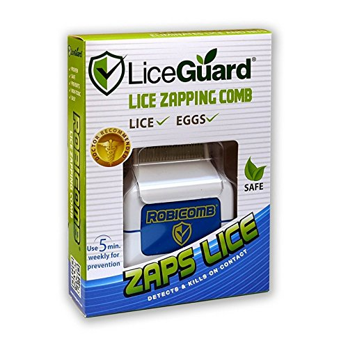 LiceGuard RobiComb Electronic Lize Zapping Comb 1 ea (Packs of 4) by LiceGuard