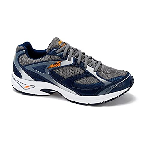 AVIA Men's Avi-Execute Running Shoe 9 (4E) Navy/Grey
