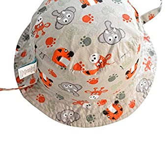 6bf63de1e8b COMVIP Baby Kids Cartoon Reversible Sun Protection Fisherman Bucket Hat   Amazon.co.uk  Clothing