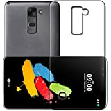 LG Stylus 2 Case Soft Back Cover ,Lightweight,Shock Absorbing Transparent Soft Back Case Cover