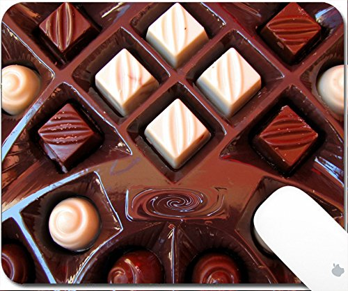 Luxlady Gaming Mousepad chocolates 9.25in X 7.25in IMAGE: 3414474