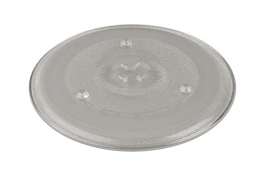 Plato Cristal Giratorio para Microondas Fi.=270mm: Amazon.es ...