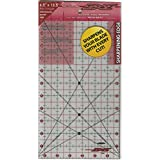 Sullivans 6-1/2-Inch-by-12-1/2-Inch The Cutting Edge Frosted Ruler