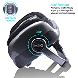 Miko Foot Massager Reflexology Machine with Shiatsu Massage Settings, Vibration, Kneading, Heat and Adjustable Bar for Feet, Ankles, Calf, for Plantar Fasciitis, Neuropathy, Tired Muscles