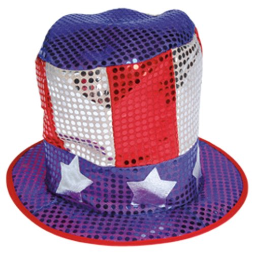 - Sequin US Hat