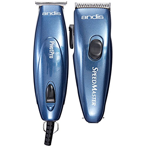 Andis LIGHTWEIGHT Men's Hair Clippers and Hair T-BLADE Trimmer Combo Set by Andis
