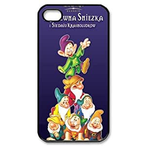 7 Dwarfs Theme iphone 5/5s Case (TPU Material) White/Black iphone 5/5s Accessories Cover