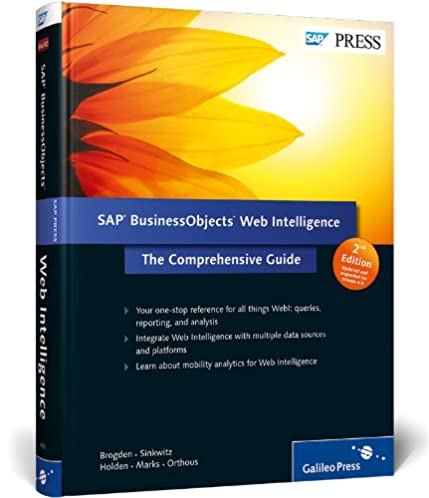 sap businessobjects web intelligence the comprehensive guide jim rh amazon com business objects web intelligence 3.1 user guide business objects web intelligence user manual