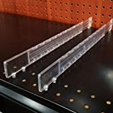 Adjustable Gondola Shelf Dividers - Multi Size