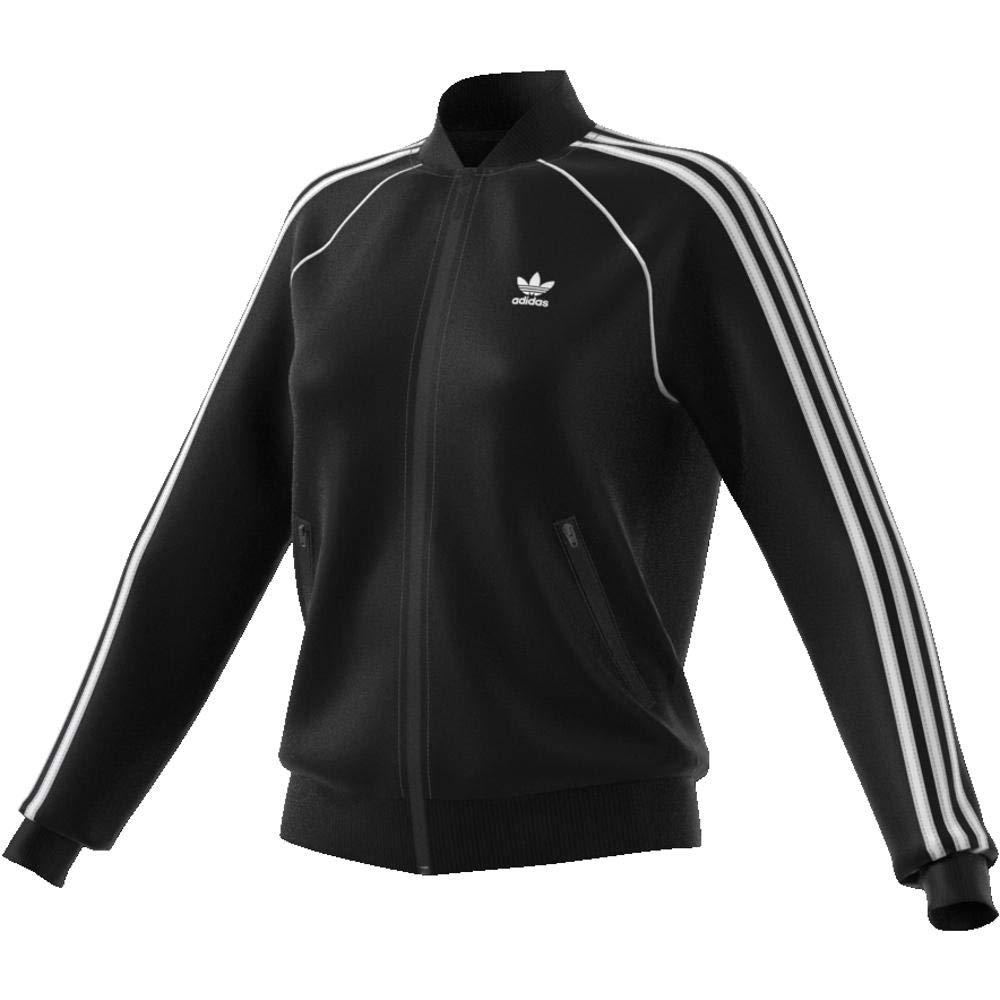 adidas Damen SST Originals Jacke, Schwarz (Black), 36