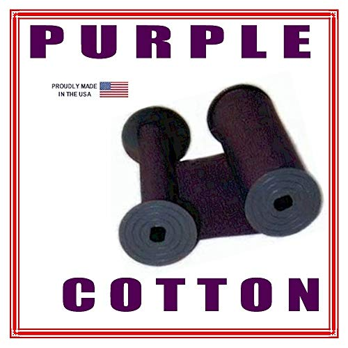 DBP Widmer T-3, D-3, N -3 Time Stamp Ink Ribbon, Purple Cotton, 1096-0277