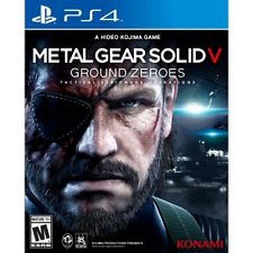Metal Gear Solid V Ground Ps4 by Generic