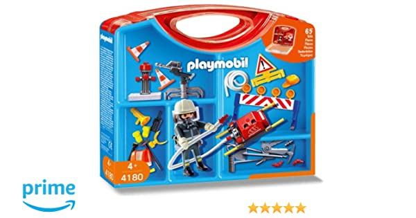 Playmobil Firemen Carrying Case