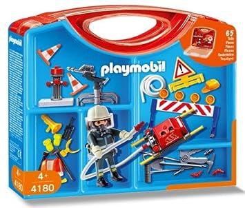Clasificación Playmobil 4180 BomberoAmazon esJuguetes Y Juegos DHeE29WIY