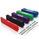 Resistance Bands - Pull up Bands - Exercise Loop Band for Body Stretching, Powerlifting, Resistance Training - Single Band