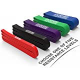 Pull Up Assist Bands - Heavy Duty Resistance Band - Mobility & Powerlifting Bands - BY POWER GUIDANCE - Perfect for Body Stretching, Powerlifting, Resistance Training - Sale is for a single unit