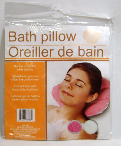 Inflatable Pillow Suction Flocked Front