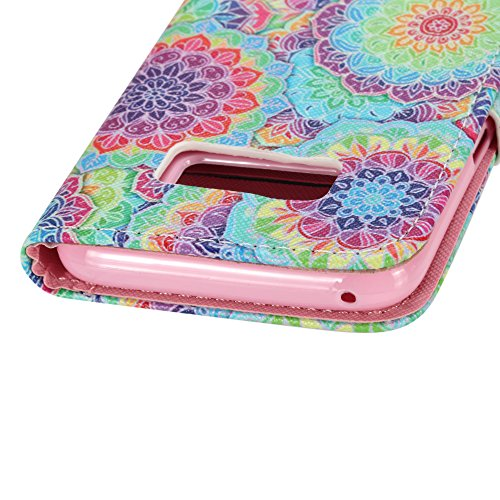 Ecoway Serie pintada Caja del teléfono de moda para Samsung Galaxy S8 - Three feathers kaleidoscope