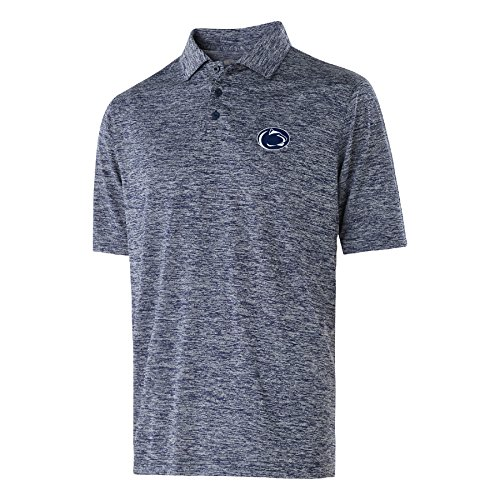 Ouray Sportswear NCAA Penn State Nittany Lions Electrify 2.0 Polo Shirts, Large, Navy Heather ()