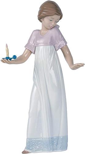 NAO to Light The Way. Porcelain Girl Figure.