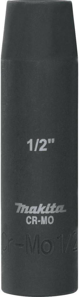 Makita A-96241 7//16 Deep Well Impact Socket with 1//2 Drive