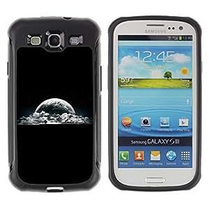Paccase / Suave TPU GEL Caso Carcasa de Protección Funda para - Earth View Planet Moon Night Sky Tree - Samsung Galaxy S3 I9300