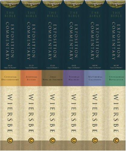 The Bible Exposition Commentary, 6 Volumes: Wiersbe, Warren W.:  9786125030474: Amazon.com: Books