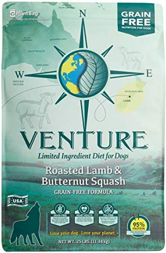 Venture Roasted Lamb Butternut Squash Limited Ingredient Dry Dog Food