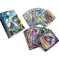 100 قطعة من بوكيمون اي اكس جي اكس، بطاقات ميجا ترنر انرجي (59 اي اكس+20 ميجا+20 جي اكس+1انرجي)-ام 012