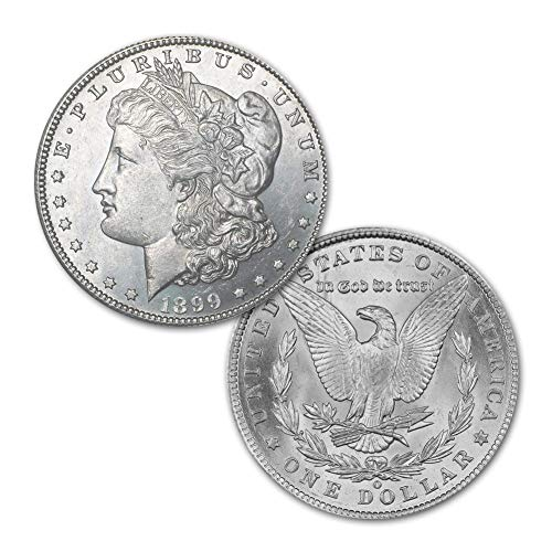 (1899 O Morgan Silver Dollar $1 Brilliant Uncirculated)