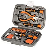 Langger 25-Piece Household Tool Kit with Screwdriver-General Hand Tool set with Plastic Toolbox Storage Case Review