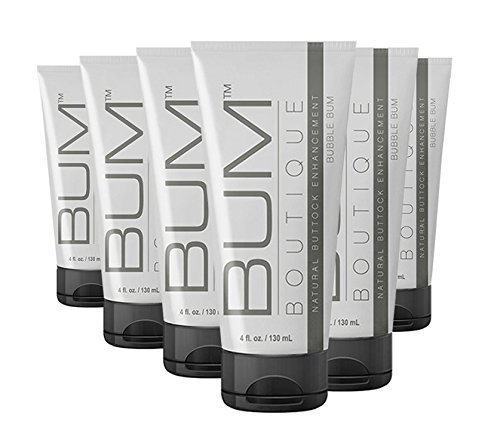 Get a Bigger Butt with Bum Boutique's Natural Butt Enhancement Cream - Love your Bum and your Bum will love you back! (6 Month ()