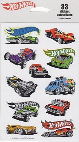 Hot Wheels Scrapbook Stickers (75529)