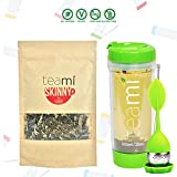 Cheap DETOX TEA for a Teatox & Weight Loss – 30 Day Supply to get Fit – Skinny by Teami Blends – Best to Help Boost Metabolism and Reduce Bloating – 100% Natural Appetite Suppressant (Kit, Green)