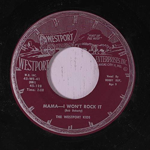 mama, i won't rock it / yearning, praying 45 rpm ()